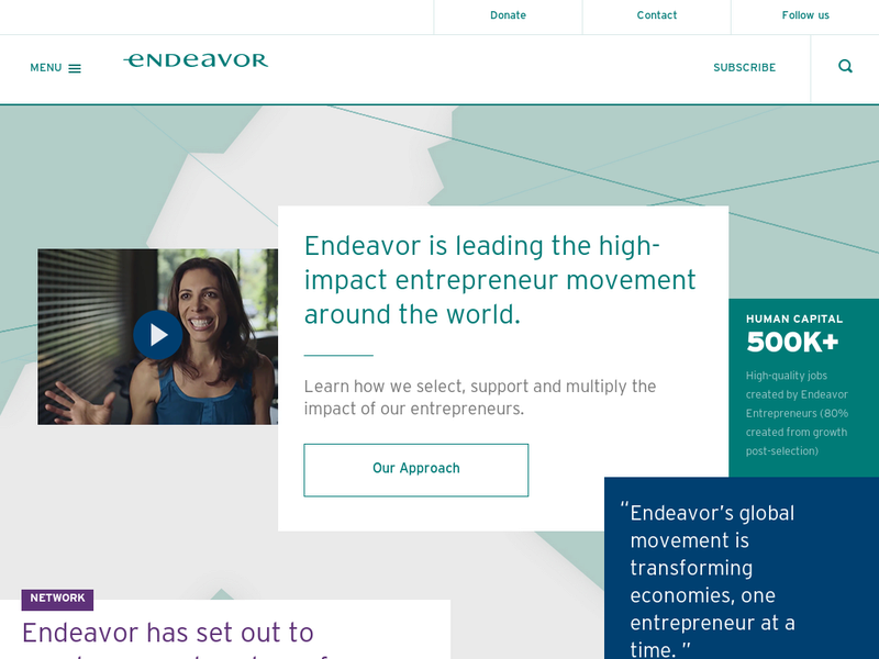 Images from Endeavor