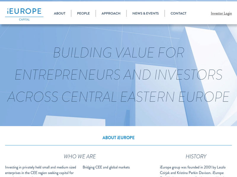 Images from iEurope Capital