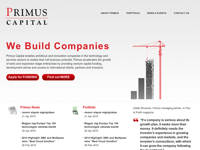 Images from Primus Capital