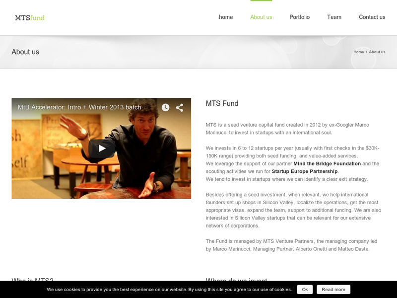 Images from MTSfund