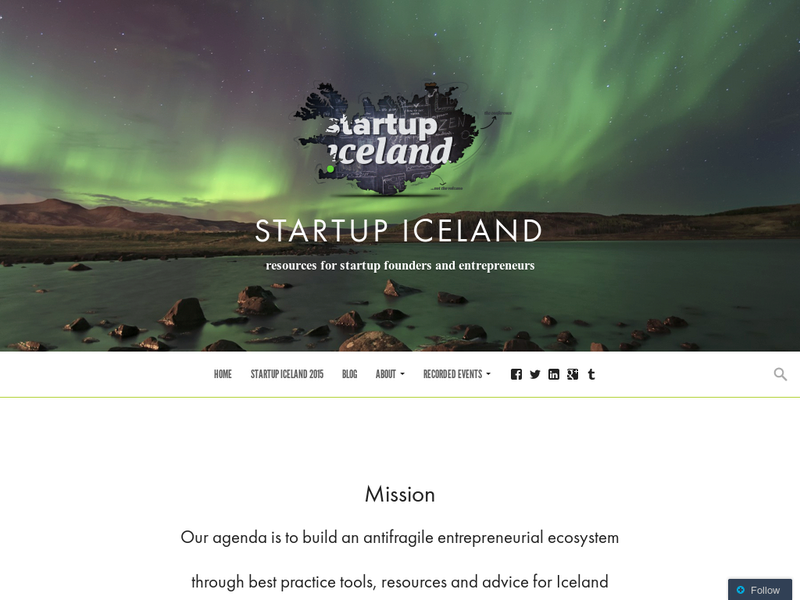 Images from Startup Iceland
