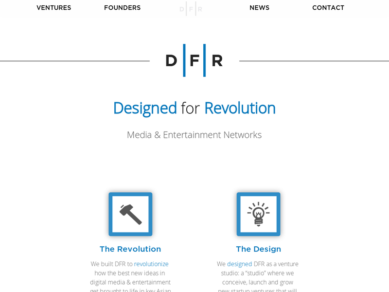 Images from DFR (Design For Revolution)