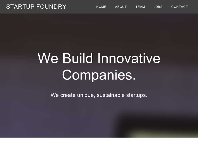 Images from Startup Foundry