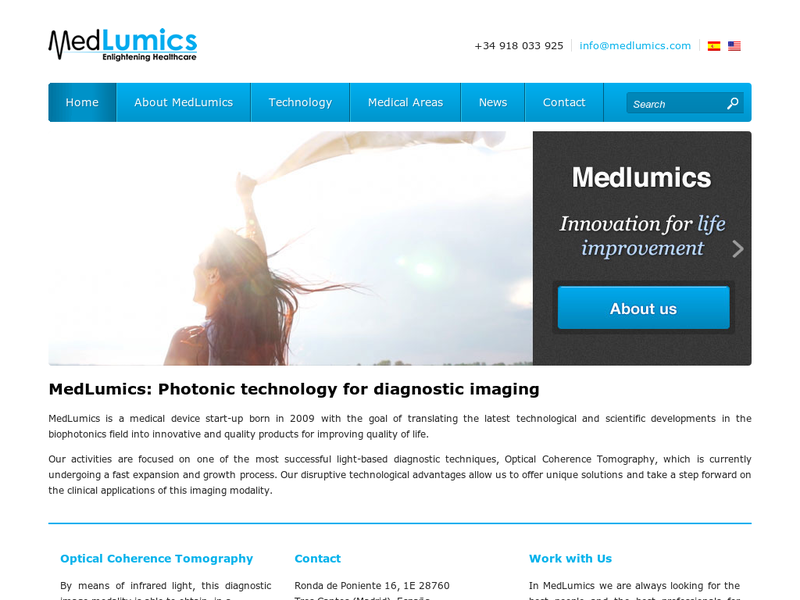 Images from Medlumics