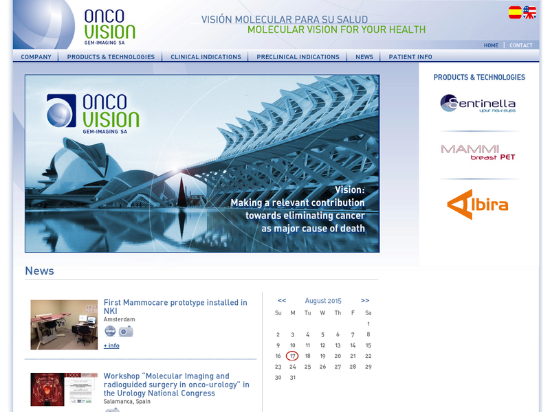 Images from Oncovision