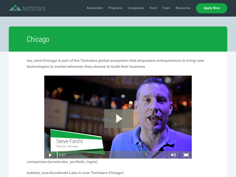 Images from TechStars Chicago