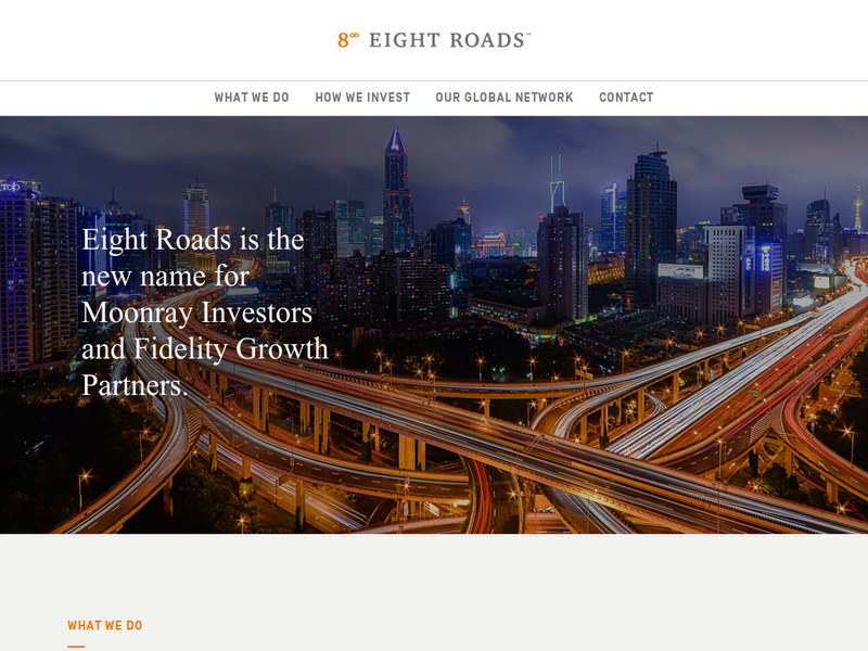 Images from Eight Roads Ventures