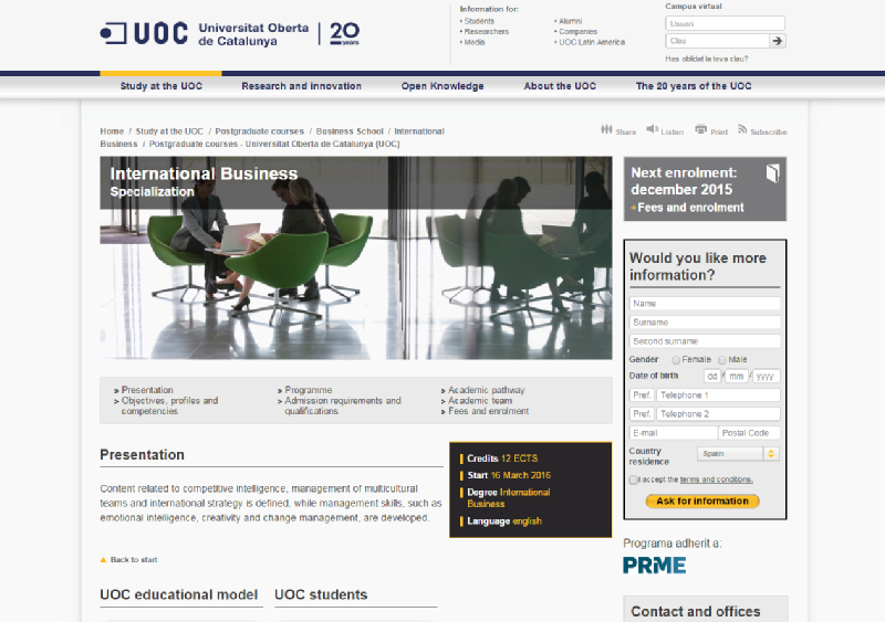 Images from UOC Business School (Universitat Oberta de Catalunya)