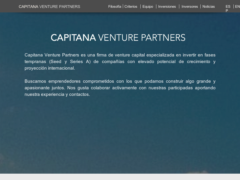 Images from Capitana Venture Partners