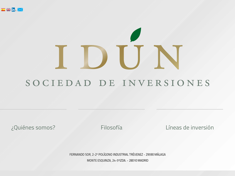 Images from IDÚN, Sociedad de Inversiones