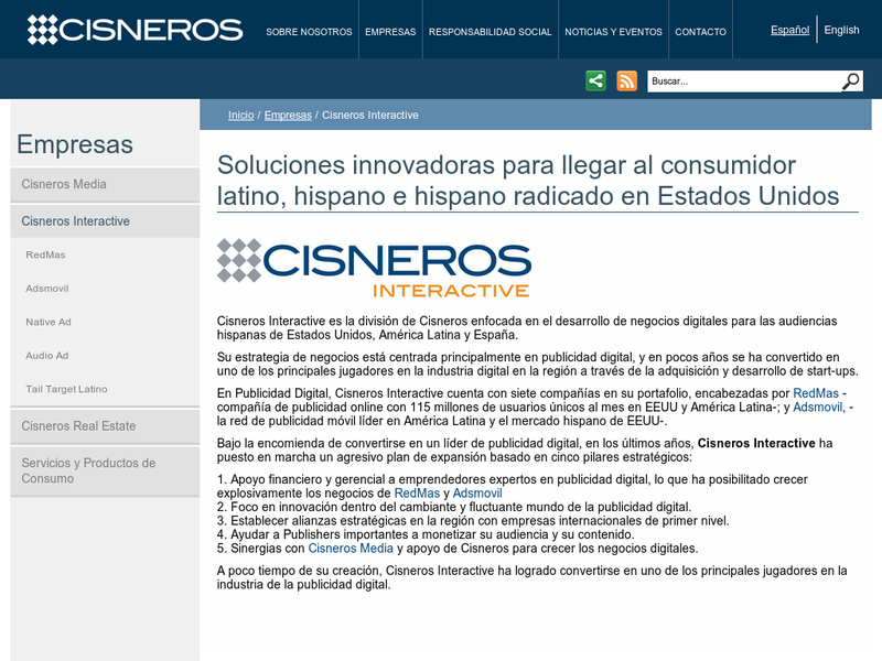 Images from Cisneros Interactive