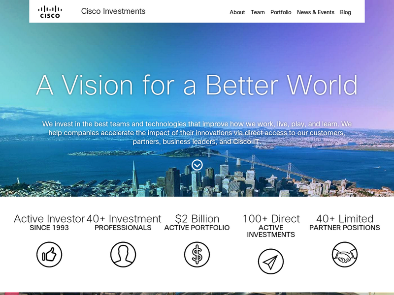 Images from Cisco Investments