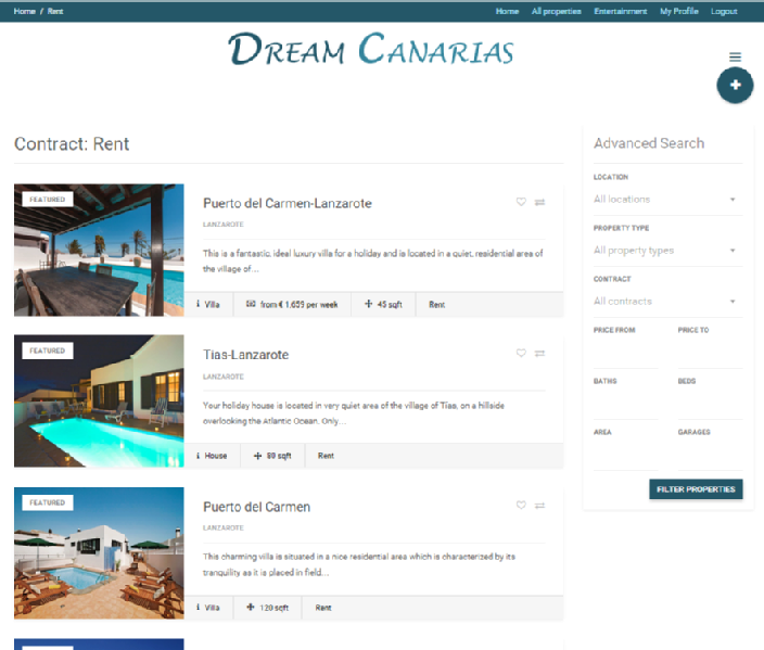 Images from Dream Canarias