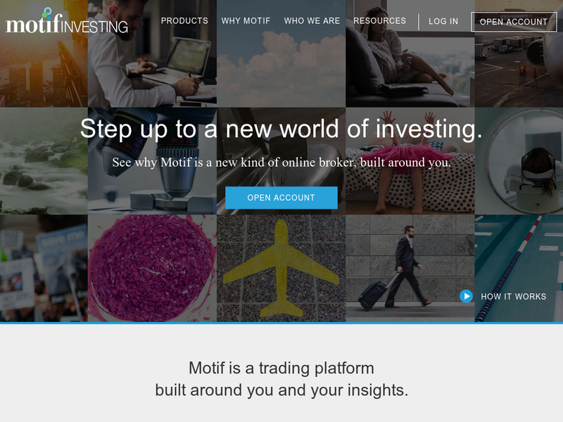 Images from Motif Investing