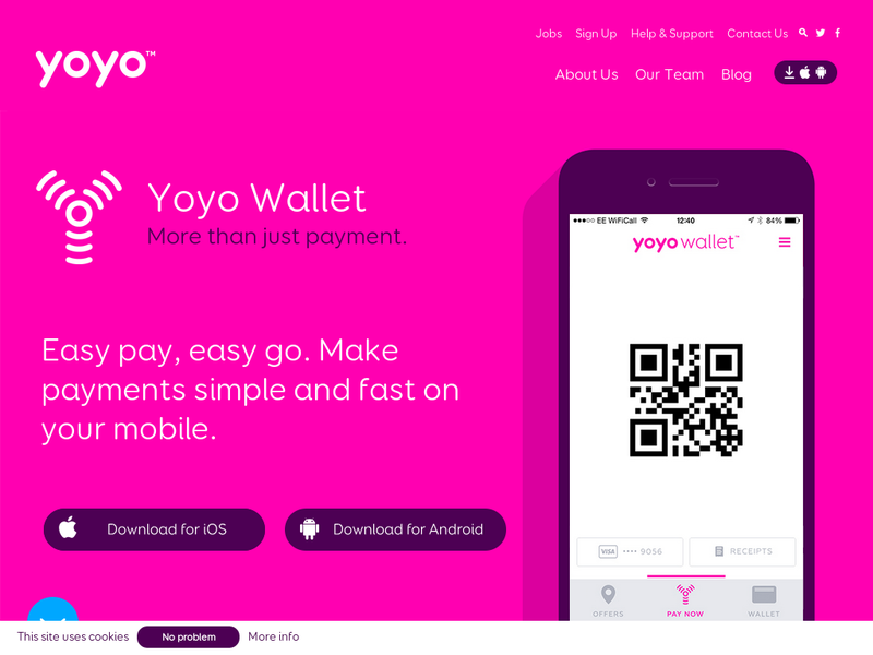Images from YoYo Wallet