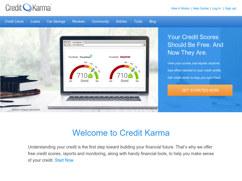 Images from Credit Karma