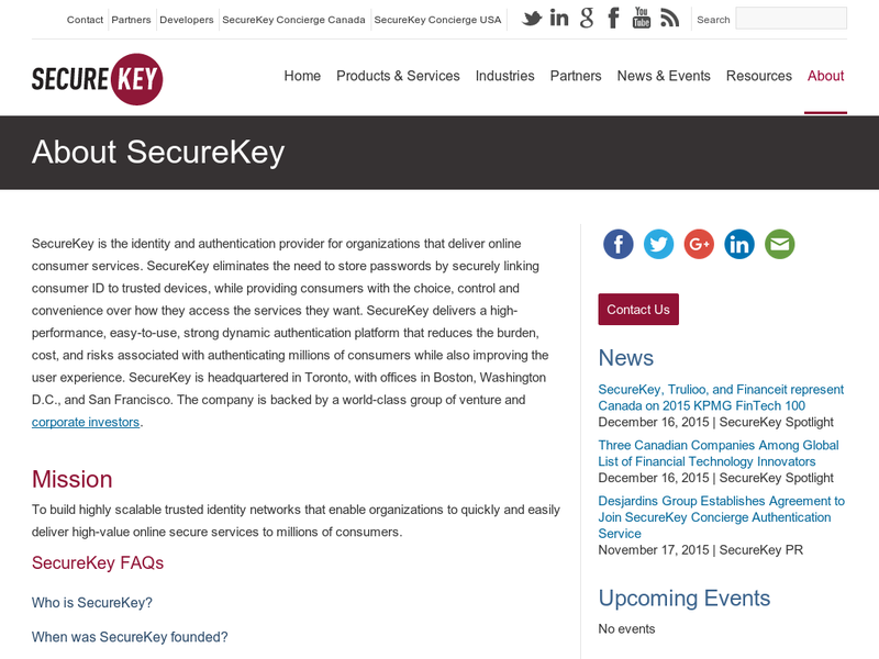 Images from SecureKey Technologies
