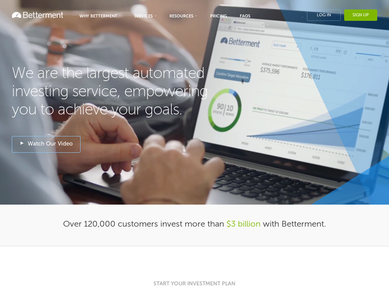 Images from Betterment