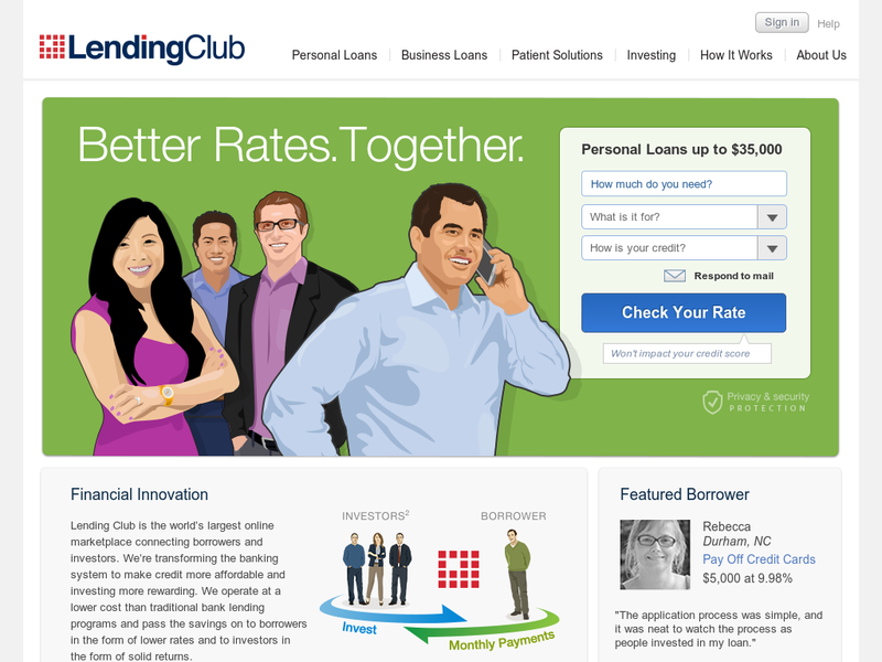 Images from Lending Club