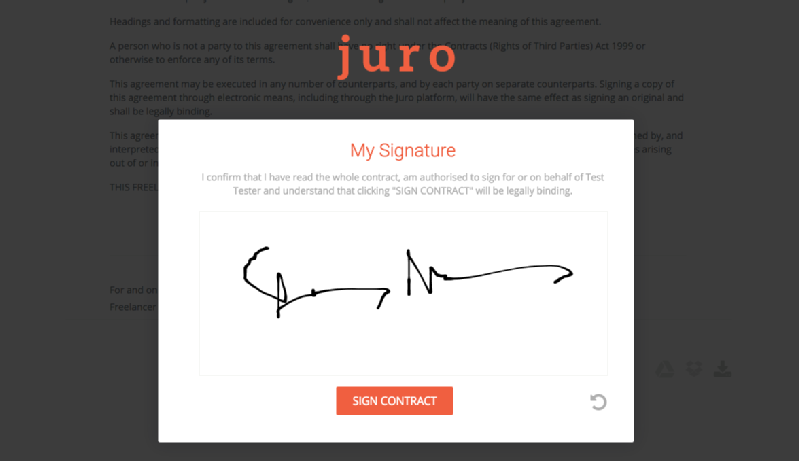 Images from Juro