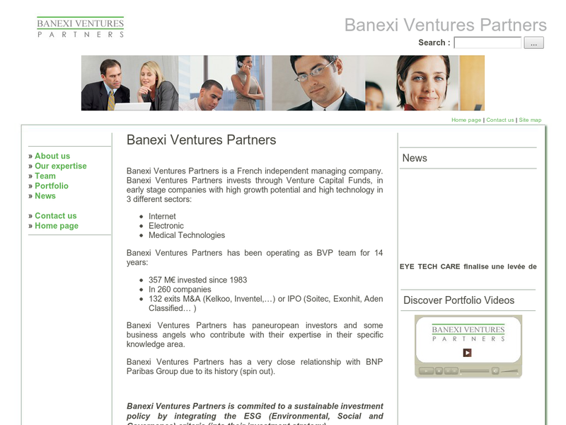 Images from Banexi Ventures