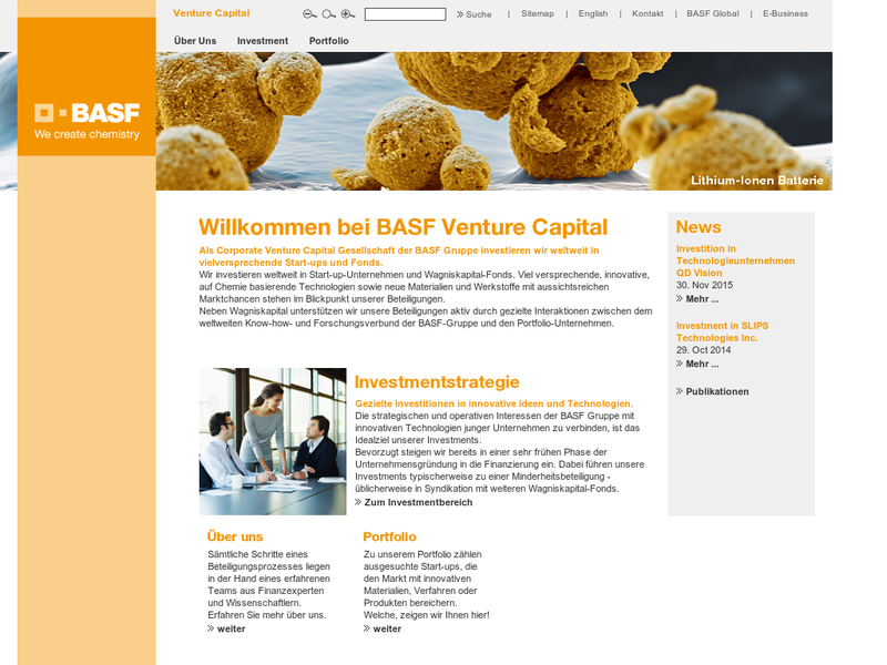 Images from BASF Venture Capital