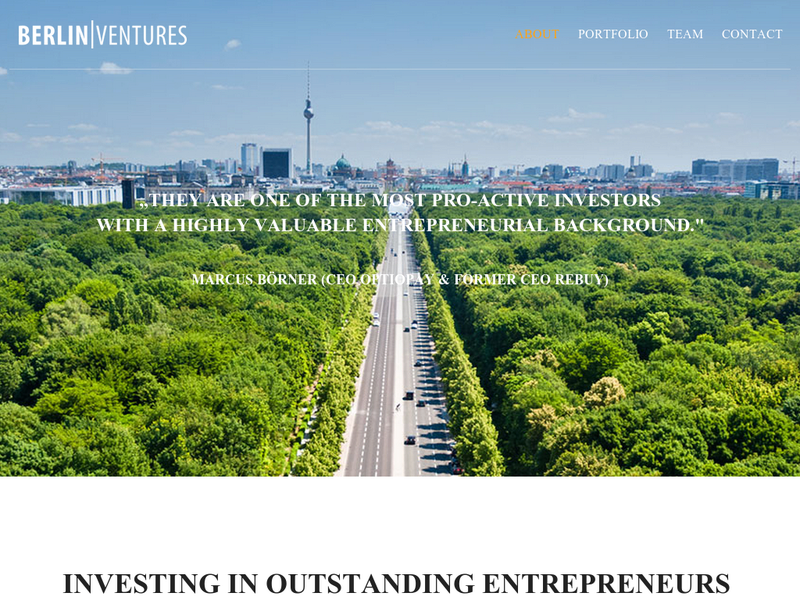 Images from Berlin Ventures