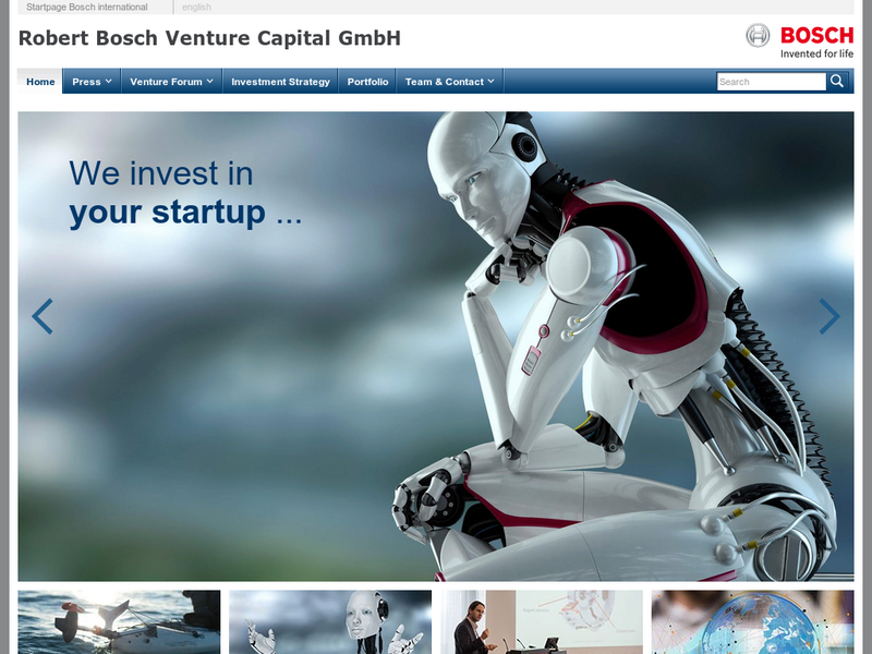 Images from Bosch Venture Capital