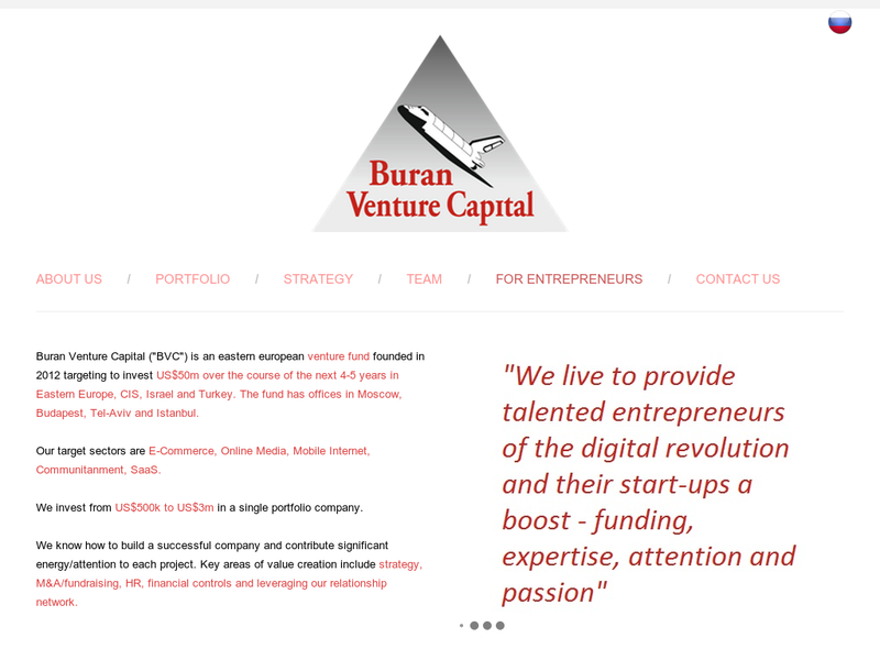 Images from Buran Venture Capital