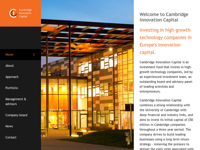 Images from Cambridge Innovation Capital
