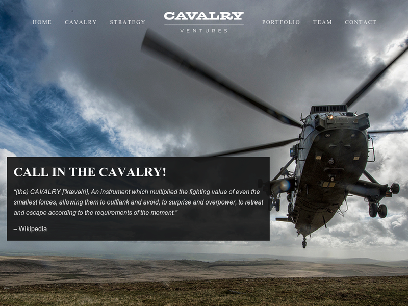 Images from Cavalry Ventures