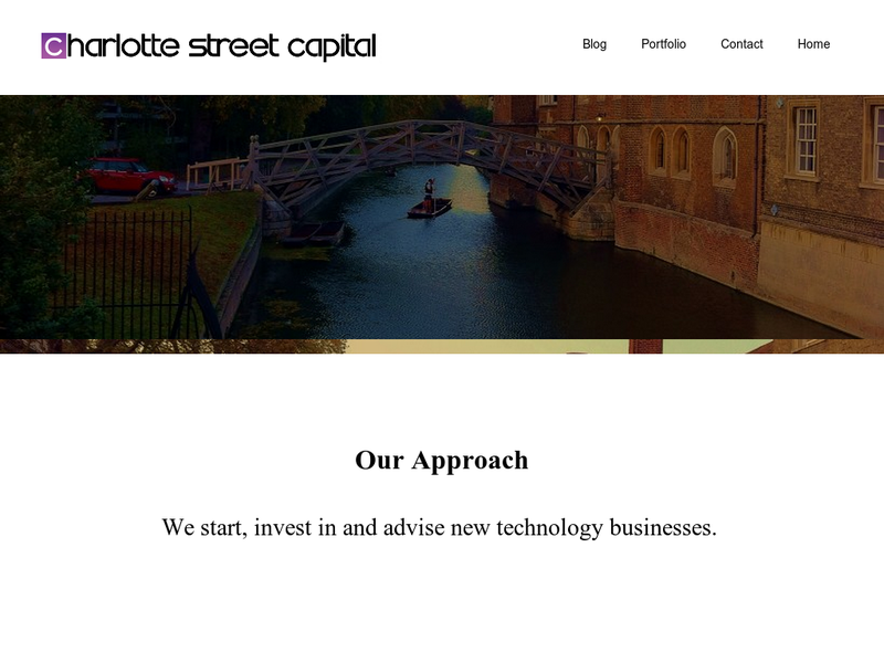 Images from Charlotte Street Capital