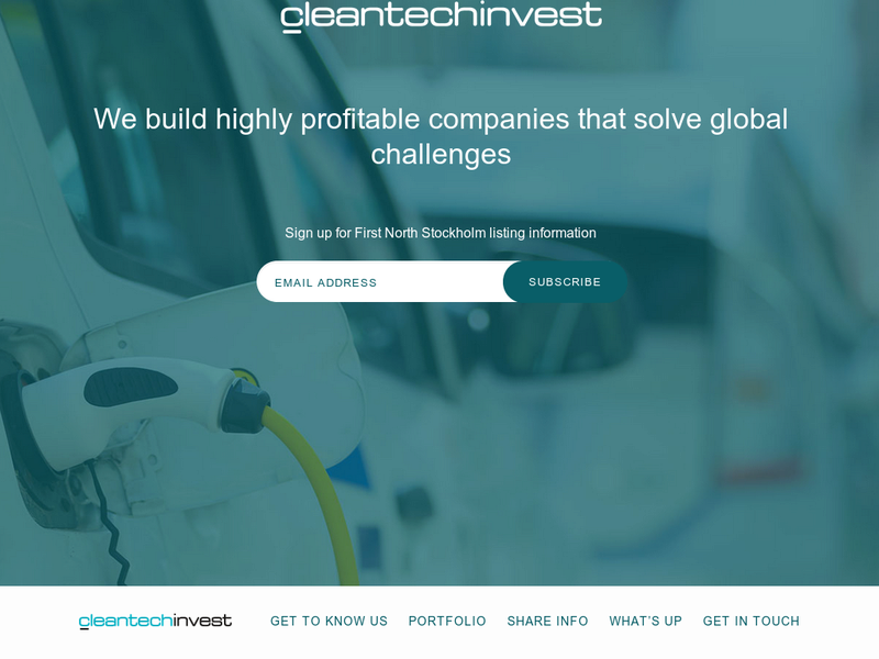 Images from Cleantech Invest