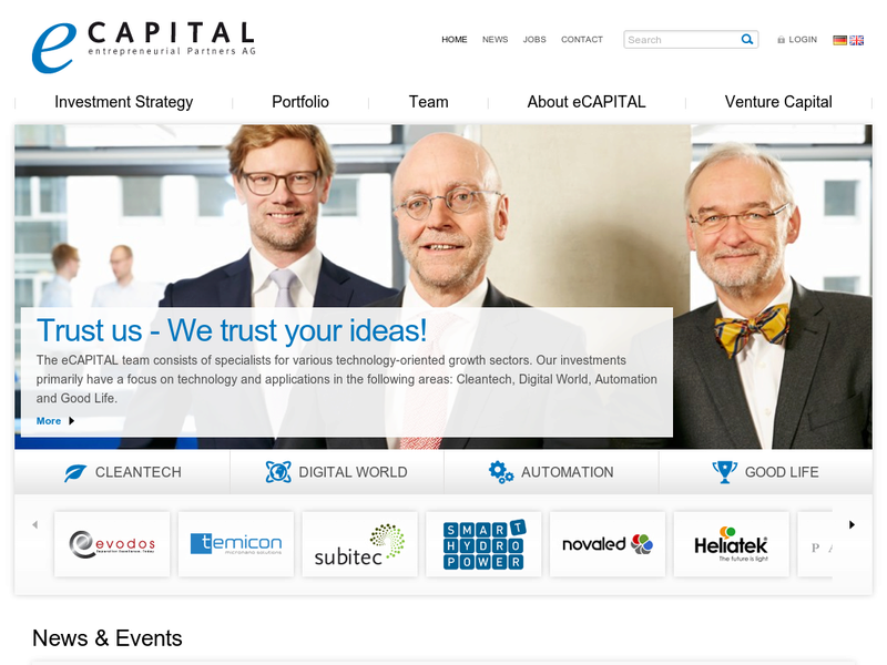 Images from eCAPITAL Entrepreneural Partners