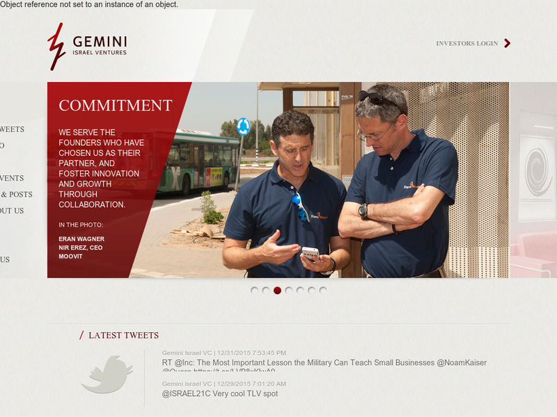 Images from Gemini Israel Ventures