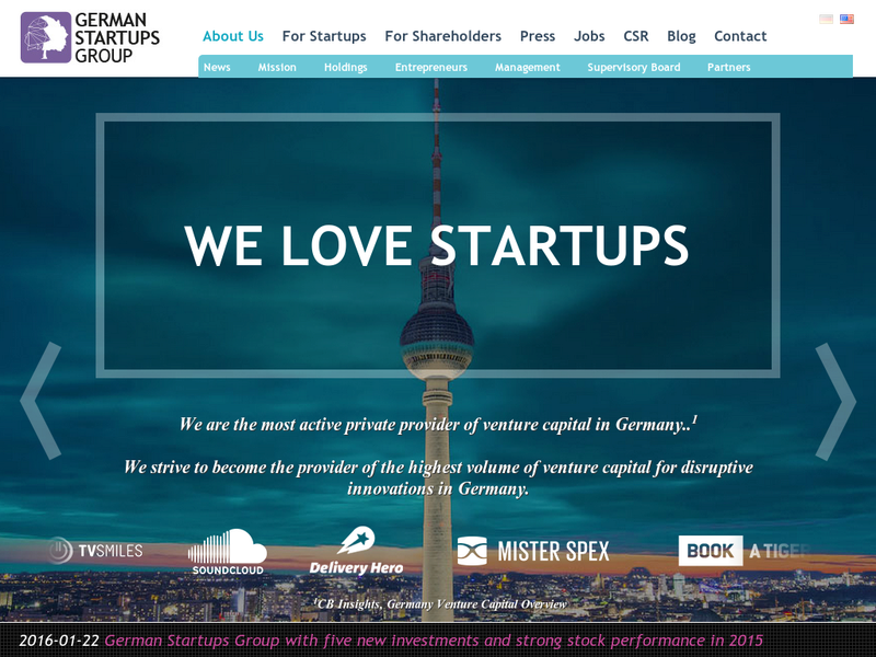 Images from German Startups Group