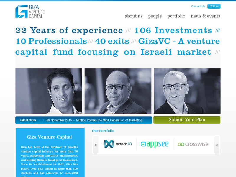 Images from Giza Venture Capital