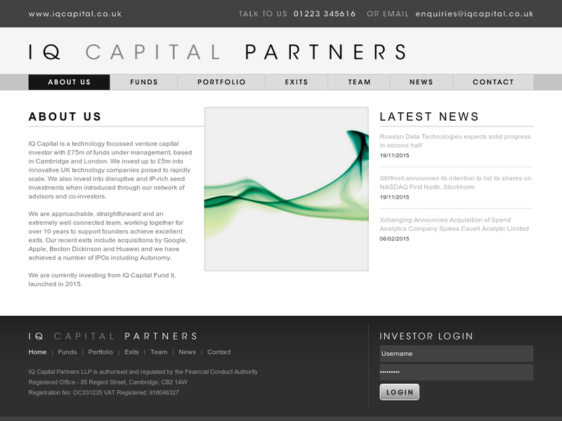Images from IQ Capital Partners