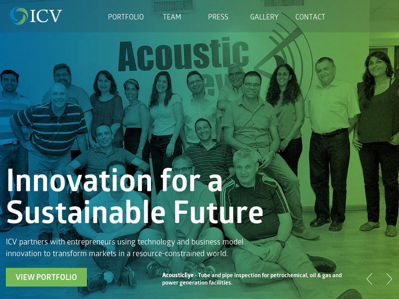 Images from Israel Cleantech Ventures