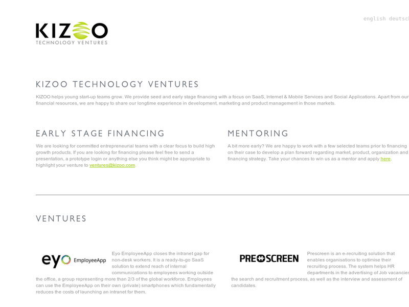 Images from Kizoo Ventures