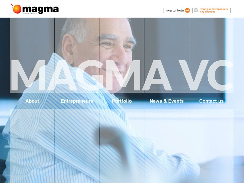Images from Magma Venture Partners