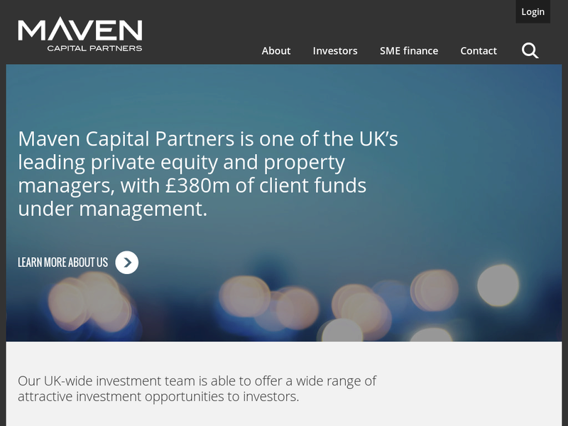 Images from Maven Capital Partners