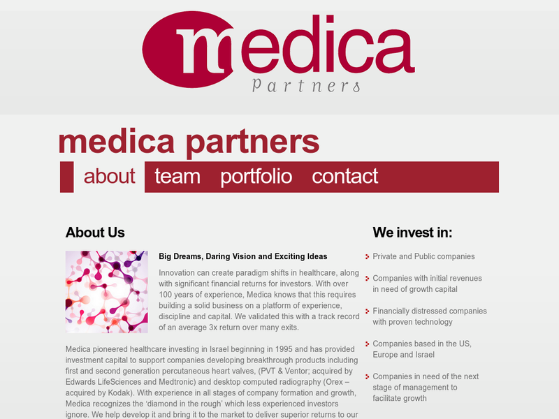 Images from Medica Venture Partners