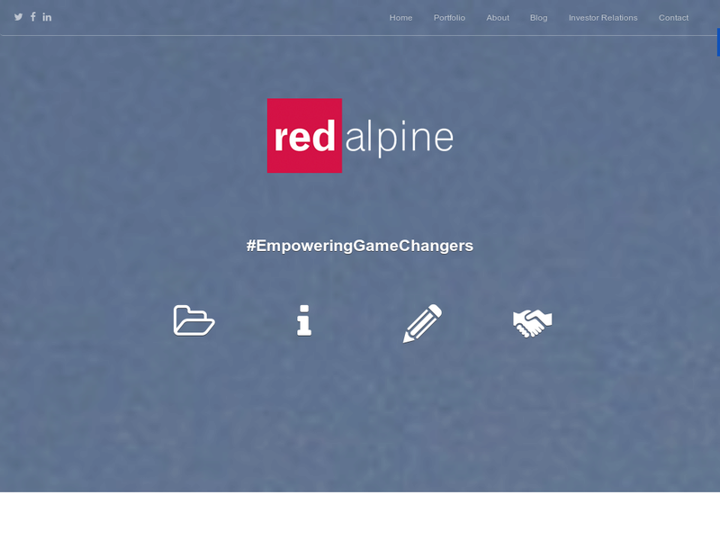 Images from Redalpine Venture Partners