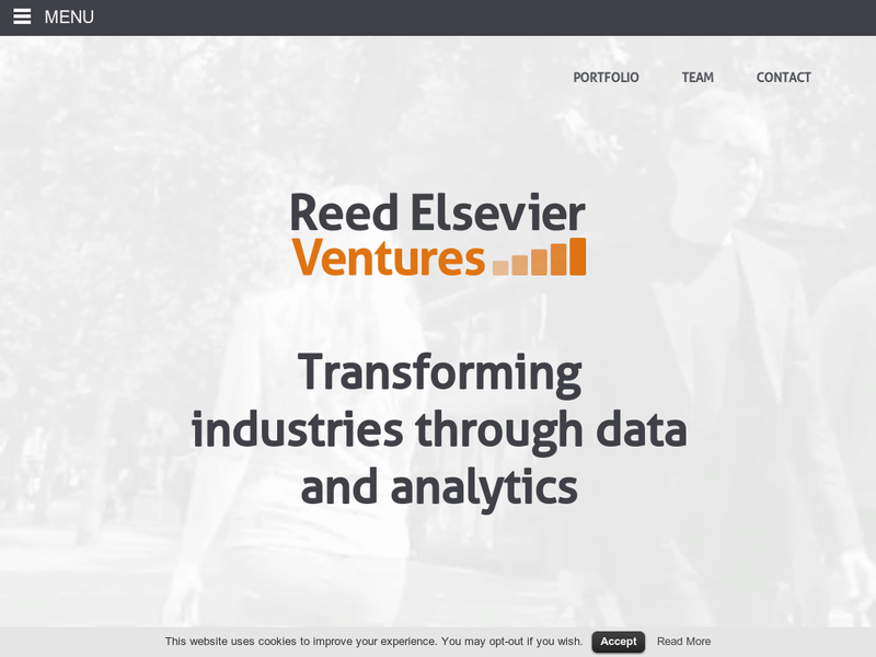 Images from Reed Elsevier Ventures