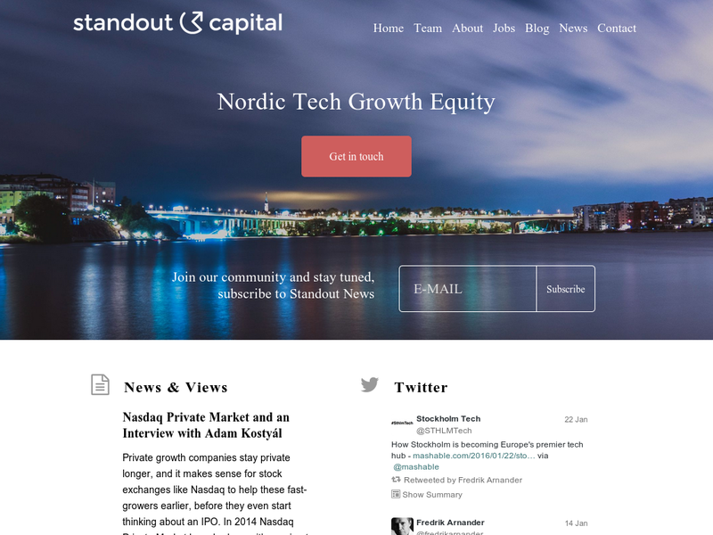 Images from Standout Capital