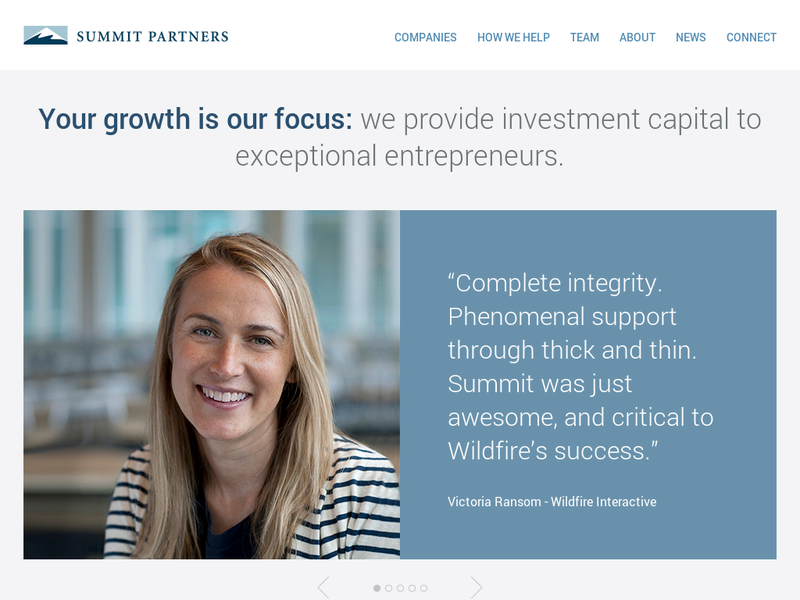 Images from Summit Partners