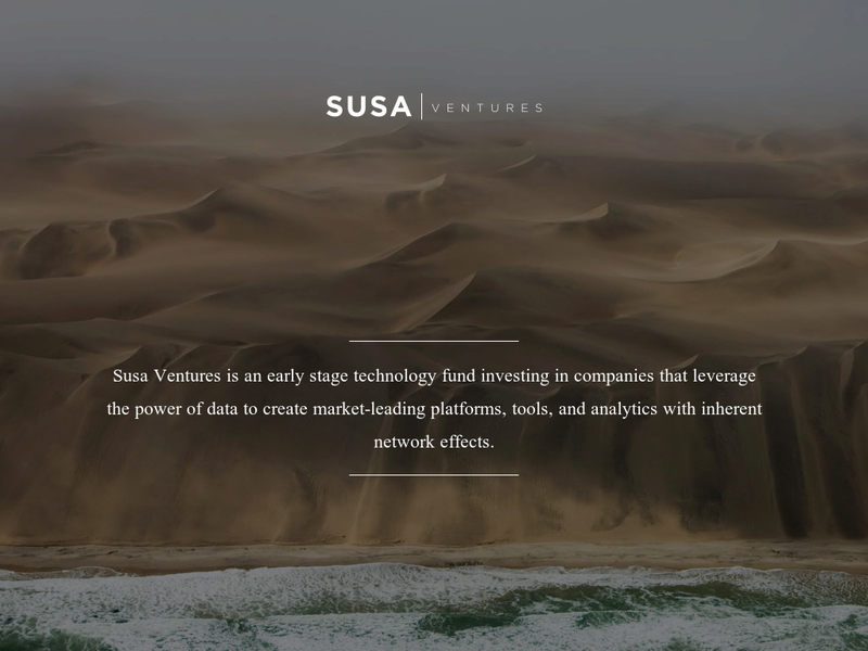 Images from SUSA Ventures