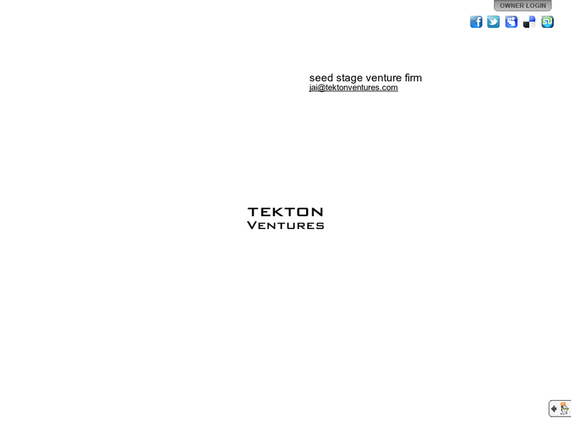 Images from Tekton Ventures