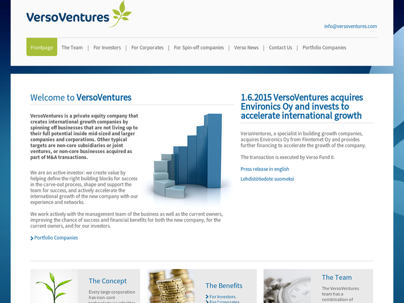 Images from Verso Ventures